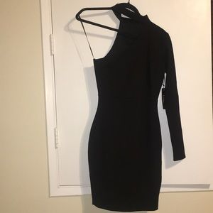 Black Lulu's Asymmetric Dress